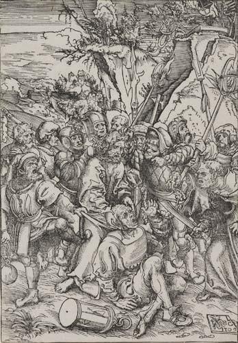 2042024: LUCAS CRANACH Christ Taken Captive.