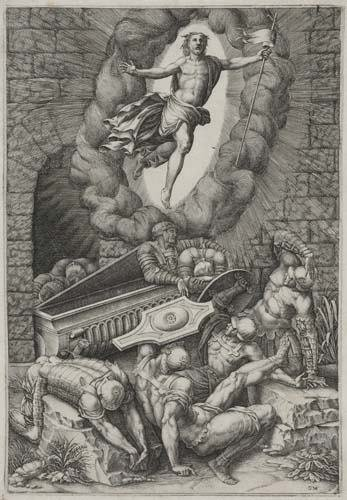 2042128: GIORGIO GHISI The Resurrection.