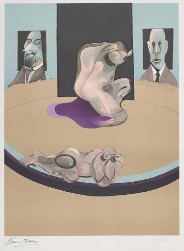 2042396: FRANCIS BACON Metropolitan Museum Poster.