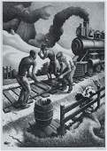 2042445 THOMAS HART BENTON Ten Pound Hammer