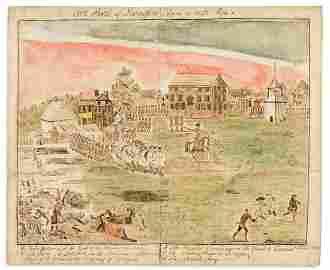 (AMERICAN REVOLUTION--1775.) St. John Honeywood,