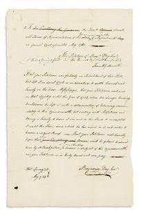 (AMERICAN REVOLUTION.) Benjamin Day Jr. A Loyalist