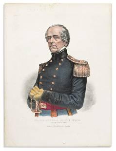 (CIVIL WAR.) Thomas S. Wagner, lithographer. Major