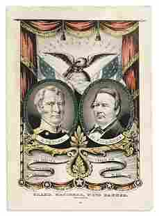 (PRESIDENTS--1848 CAMPAIGN.) Nathaniel Currier,