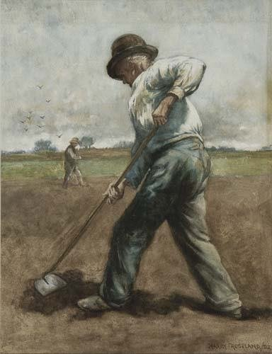 2046011: HARRY ROSELAND Hoeing.
