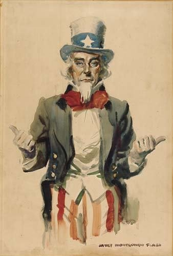 2046022: JAMES MONTGOMERY FLAGG Uncle Sam.