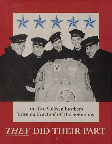 2048003: Poster THE FIVE SULLIVAN BROTHERS / THEY DID T
