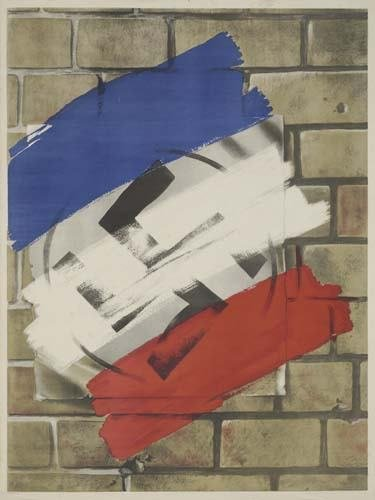 2048004: Poster [FRENCH LIBERATION.] Circa 1944. 40x30
