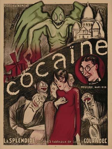 2048206: Poster RENE GAILLARD. RENE GAILLARD COCAINE. C