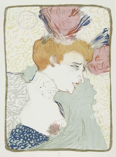 2049009: HENRI TOULOUSE-LAUTREC Mademoiselle Marcelle L