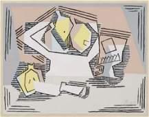 2049034: PABLO PICASSO (after) Cubist Composition: Stil