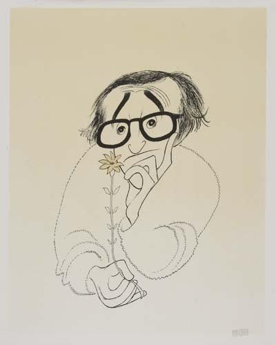 2050004: AL HIRSCHFELD. Woody Allen