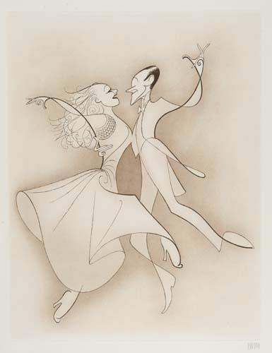 2050007: AL HIRSCHFELD. Astaire & Rogers
