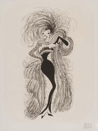 2050008: AL HIRSCHFELD. Josephine Baker