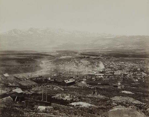 2053019: JACKSON, WILLIAM HENRY (1843-1942) Panorama of