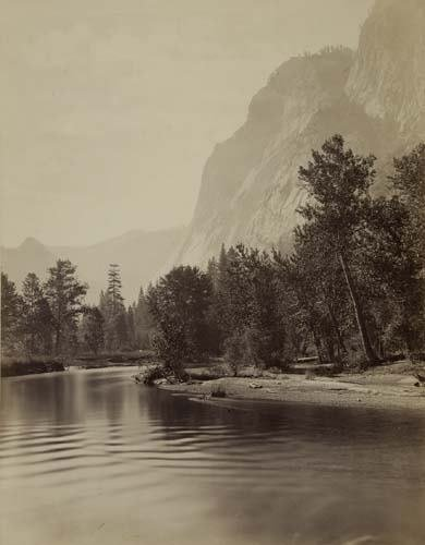 "2053021: WATKINS, CARLETON (1829-1916) ""Glacier Point,"