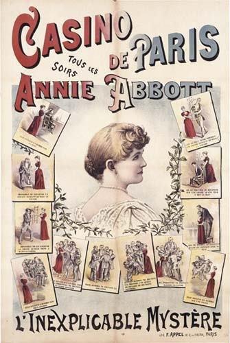 2054001: ABBOTT Annie May. Casino de Paris tous les Soi