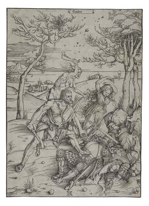 2055003: ALBRECHT DÜRER Hercules Conquering the Molioni