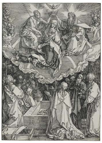 2055009: ALBRECHT DÜRER The Assumption and Coronation o