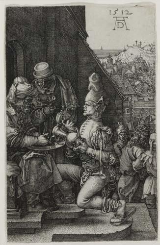 2055011: ALBRECHT DÜRER Pilate Washing his Hands.