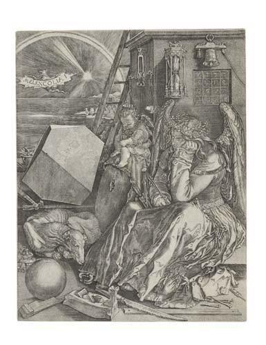 2055014: JOHANNES WIERICX (AFTER DÜRER) Melancolia I.