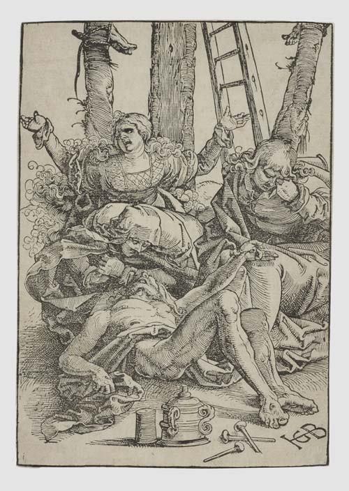 2055015: HANS BALDUNG GRIEN The Lamentation.