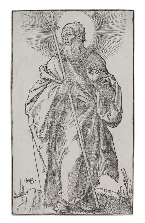 2055016: HANS BALDUNG GRIEN St. Thomas.