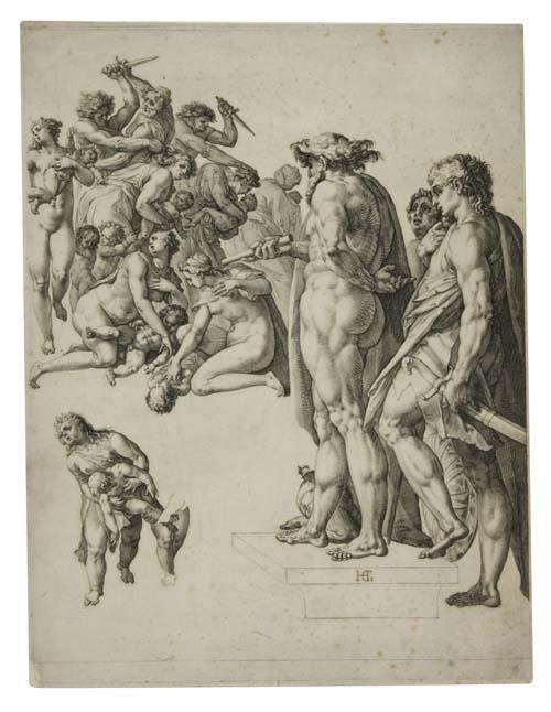 2055023: HENDRICK GOLTZIUS The Massacre of the Innocent