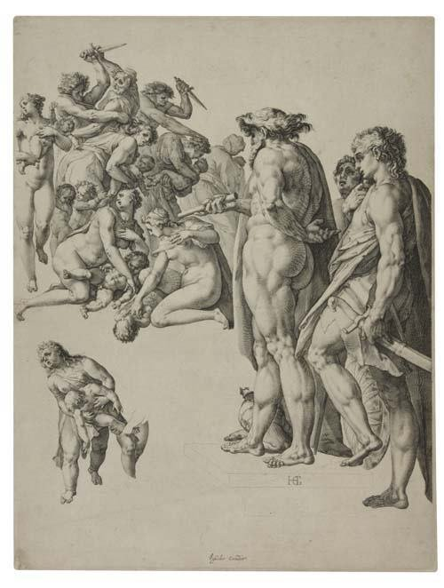 2055024: HENDRICK GOLTZIUS The Massacre of the Innocent