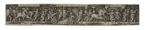 2055109 HANS SEBALD BEHAM Two engravings