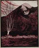 2055464: HOWARD COOK Sangré de Christo Mountains, New M