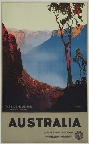 2056007: Poster. JAMES NORTHFIELD AUSTRALIA. 40x25 inch