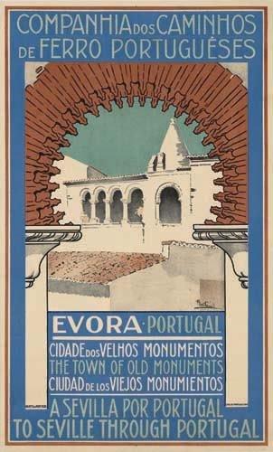 2056010: Poster. ALBERTO POUZZA EVORA / PORTUGAL. 39x24