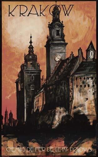 2056012: Poster. STEFAN NORBLIN KRAKOW. Circa 1935. 39x