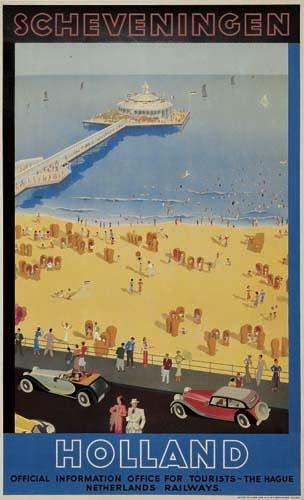 2056016: Poster. EMMANUEL GAILLARD SCHEVENINGEN / HOLLA