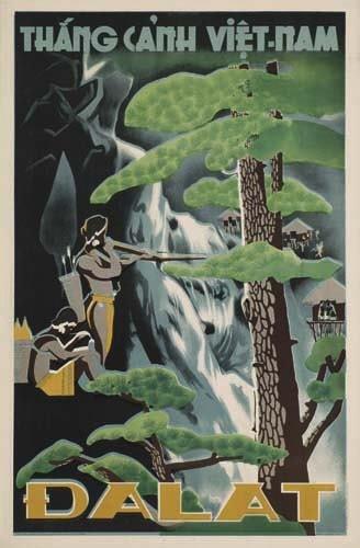 2056017: Poster. ANONYMOUS DA-LAT / VIETNAM. Circa 1957