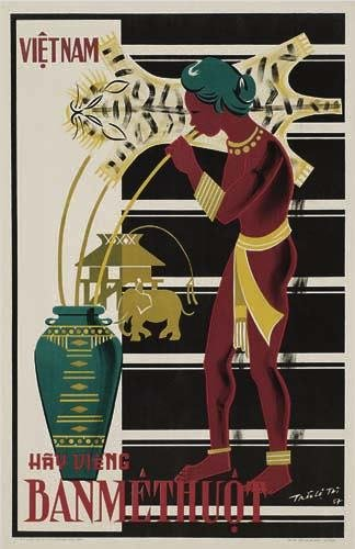 2056020: Poster. ANONYMOUS BANMETHOUT / VIETNAM. Circa