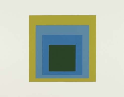 2057007: JOSEF ALBERS Formulation and Articulation.