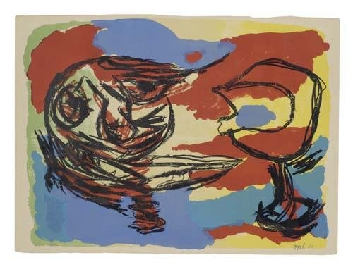2057010: KAREL APPEL Abstract Composition.