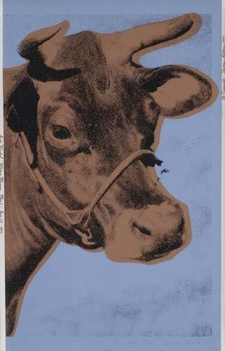 2057309: ANDY WARHOL Cow.