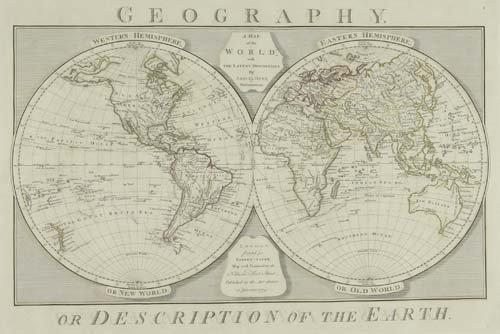 2060028: DUNN, SAMUEL. A New Atlas of the Mundane Syste