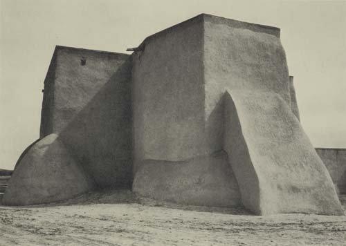 2061004: ADAMS, ANSEL. Taos Pueblo.