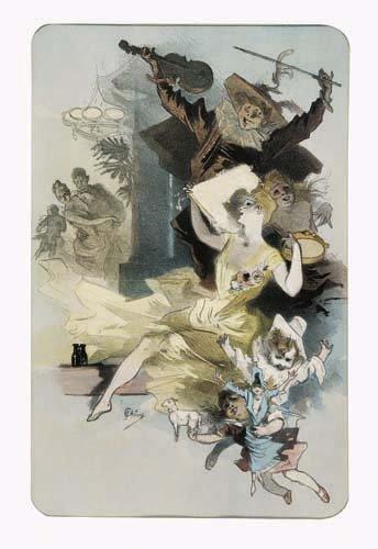 2062002: Poster, JULES CHERET (1836-1932). FANTASIE