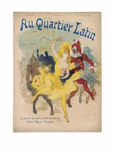 2062003: Poster, JULES CHERET (1836-1932). PARIS ILLUST