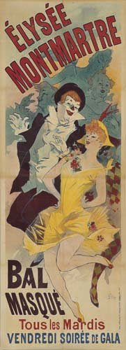 2062006: Poster, JULES CHERET (1836-1932). ELYSEE MONTM