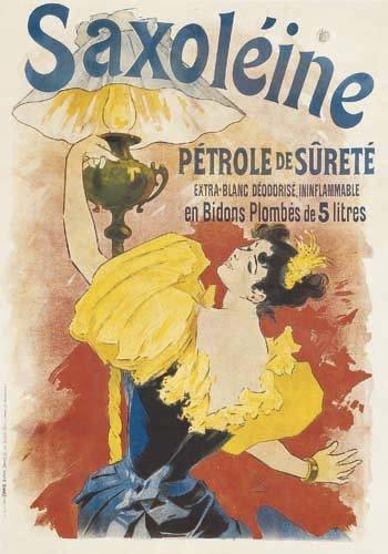 2062008: Poster, JULES CHERET (1836-1932). SAXOLEINE. 1