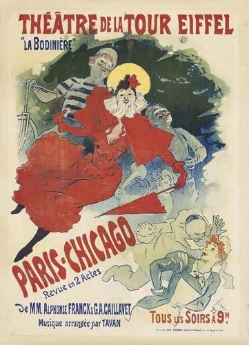 2062010: Poster, JULES CHERET (1836-1932). THEATRE DE L