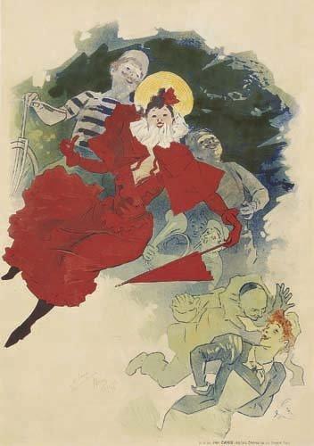 2062011: Poster, JULES CHERET (1836-1932). THEATRE DE L