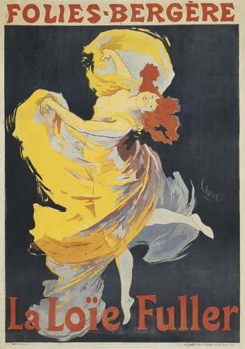 2062012: Poster, JULES CHERET (1836-1932). FOLIES-BERGE