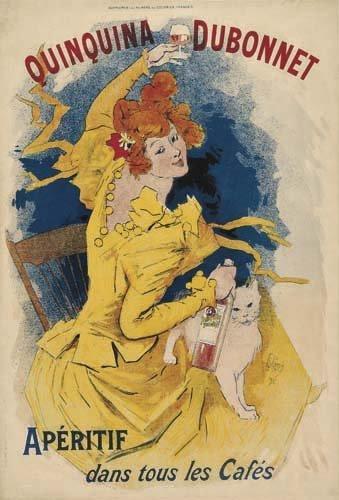 2062013: Poster, JULES CHERET (1836-1932). QUINQUINA DU
